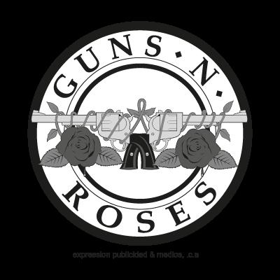 Guns and roses logo vector clipart image royalty free library Guns N Roses logo vector - Download logo Guns N Roses vector image royalty free library