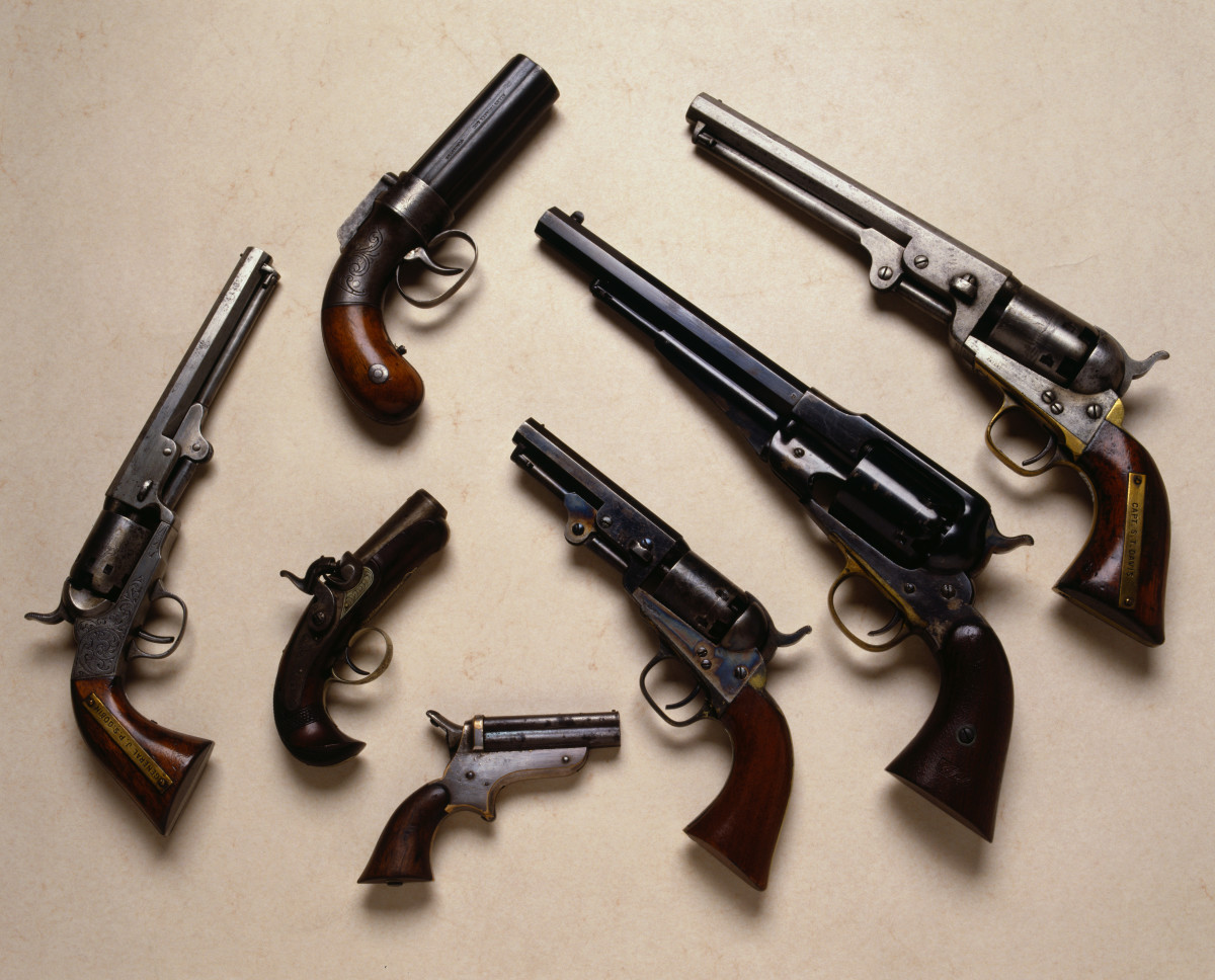 Guns in the 1800s clipart vector royalty free stock Firearms - HISTORY vector royalty free stock