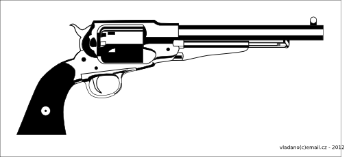 Guns in the 1800s clipart clip art library download Revolver Remington 1858 New Model the title of this royalty free ... clip art library download