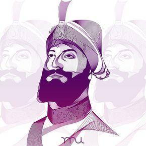 Guru gobind singh clipart png download Beautiful Sikh Art of Guru Gobind Singh Ji by Raj U (@raj_ubhi_) ... png download