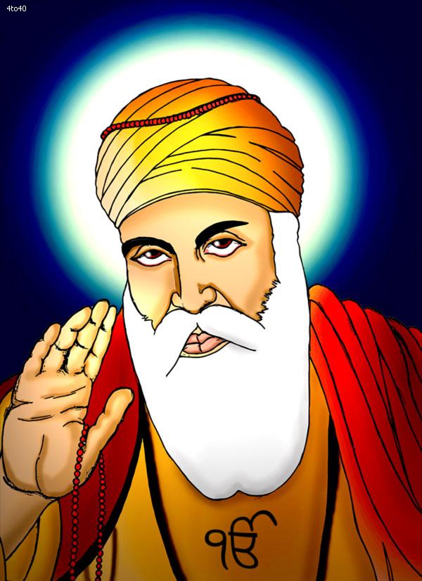 Guru nanak clipart vector library stock Guru Nanak Dev Ji Stock Photo: Guru Nanak Jayanti Image, Guru - Clip ... vector library stock