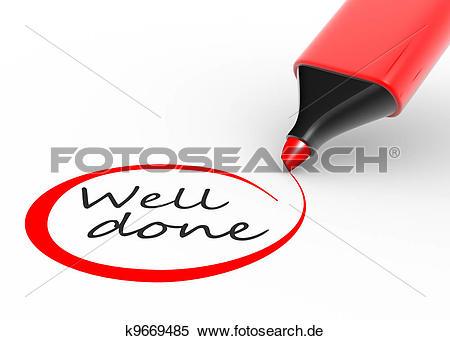 Gut gemacht clipart free Stock Illustration - gut gemacht k9669485 - Suche Clipart ... free