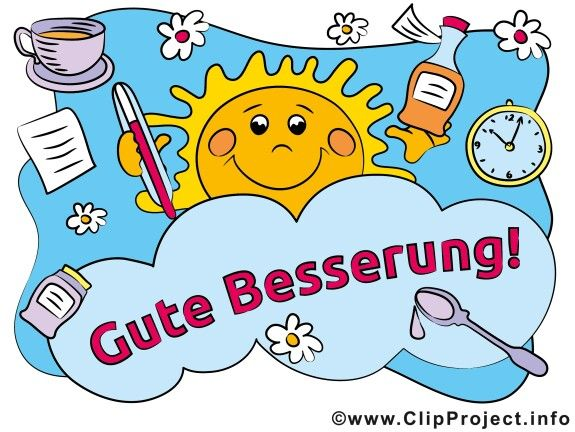 Gute besserung clipart image library download 17 Best images about Gute Besserung on Pinterest | How go ... image library download