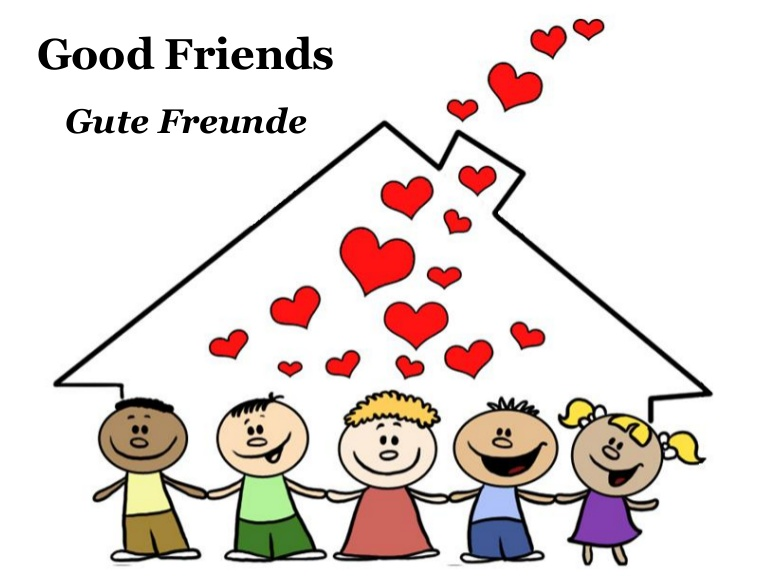 Gute freunde clipart picture freeuse stock Gute Freunde - Good Friends picture freeuse stock