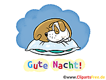 Gute nacht clipart vector library library Gute Nacht Bilder, Cliparts, Cartoons, Grafiken, Illustrationen ... vector library library