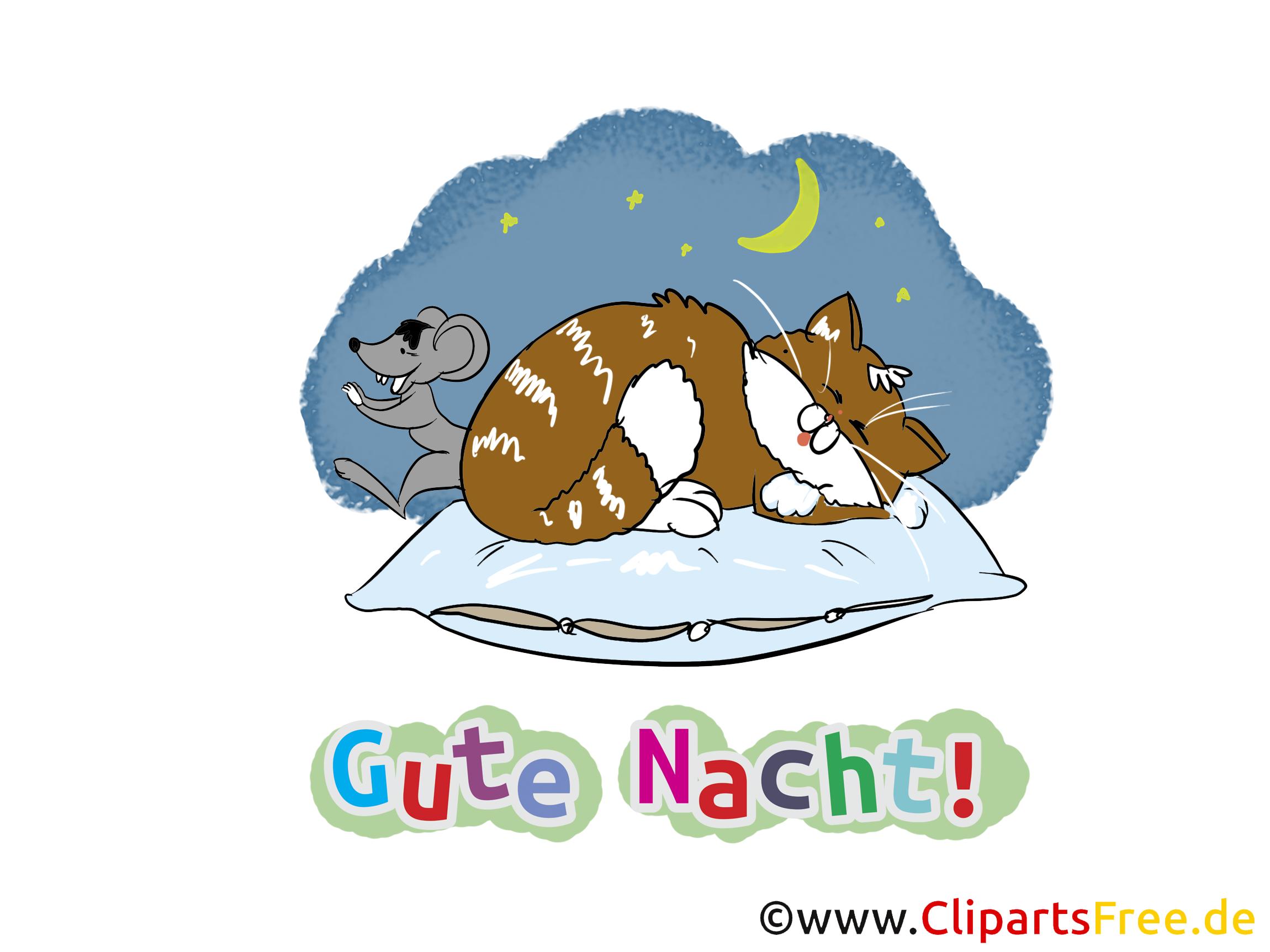 Gute nacht clipart bilder jpg Gute Nacht Karten kostenlos jpg