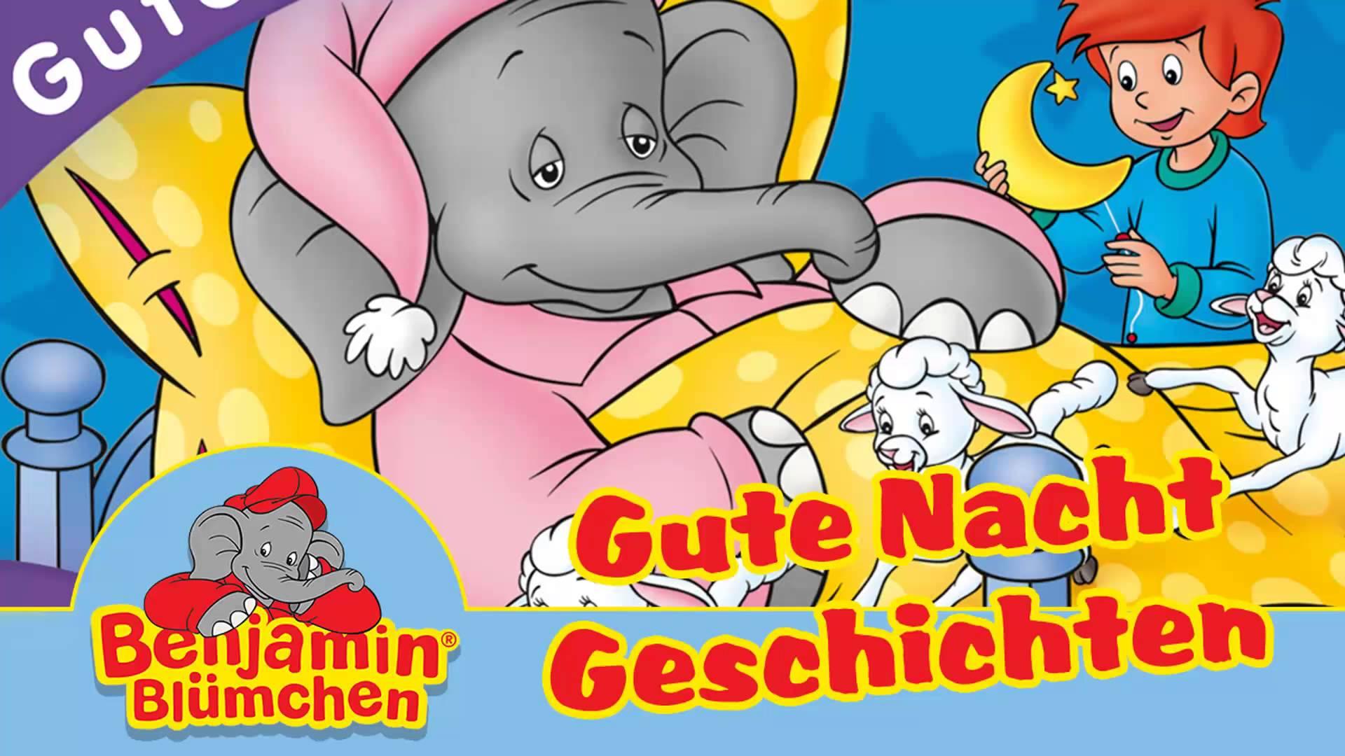 Gute nacht geschichte clipart clipart freeuse library Benjamin Blümchen - Gute Nacht im Zoo - Gute Nacht Geschichten ... clipart freeuse library