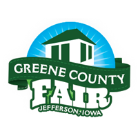 Guthrie couty fair in guthrie center ia clipart graphic black and white Greene County Iowa Fair graphic black and white