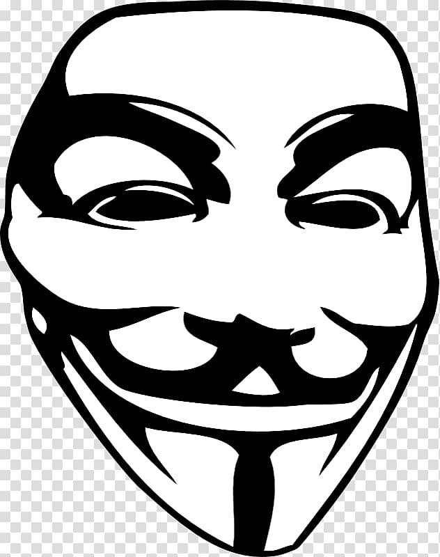 Guy fawkes clipart vector download Guy Fawkes mask Sticker V for Vendetta , mask transparent background ... vector download