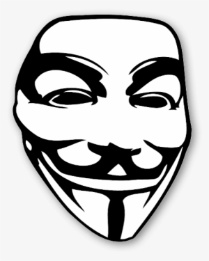 Guy fawkes mask clipart black and white library Guy Fawkes Mask PNG, Transparent Guy Fawkes Mask PNG Image Free ... black and white library