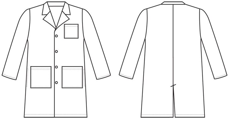 Guy in labcoat clipart clip art freeuse download Lab Coat Size Medium | Dentistry clip art freeuse download