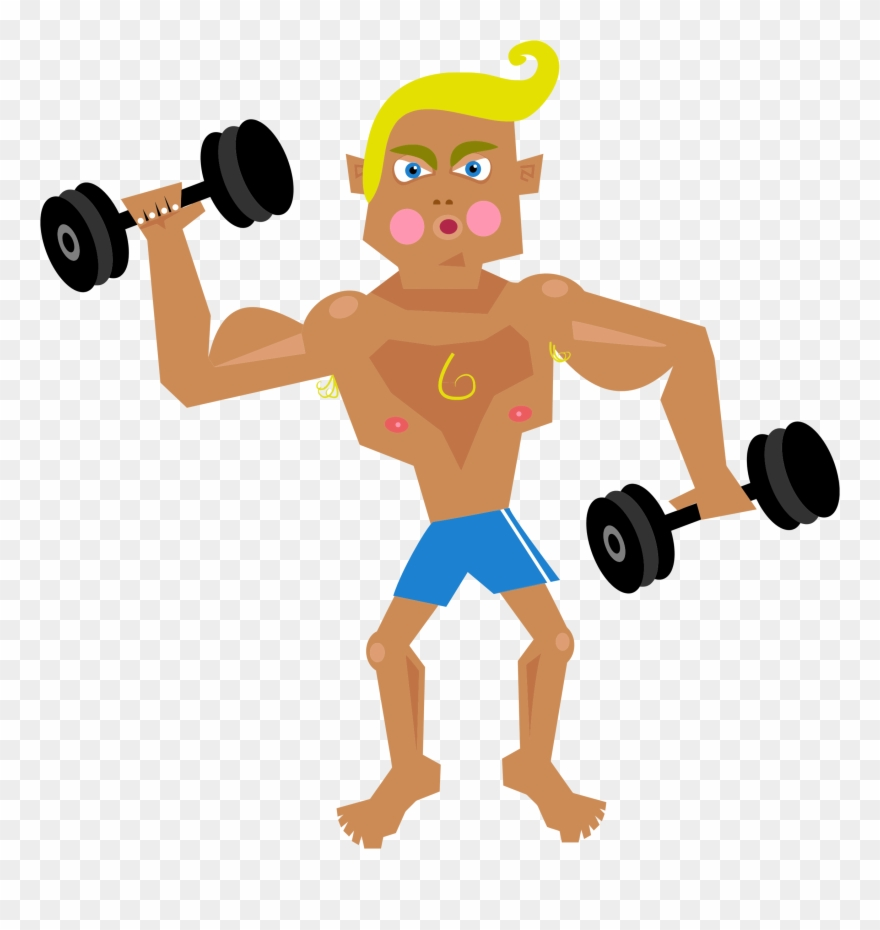 Guy lifting weights clipart clip library stock Man Lifting Weights Clip Art - Muscle Man Clipart Png Transparent ... clip library stock