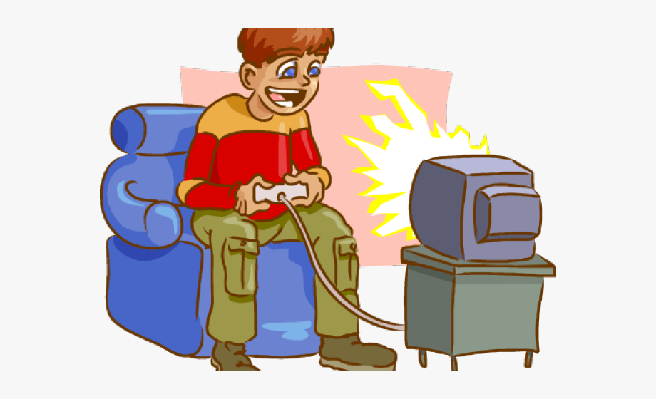 Guy playing video games clipart silhouette image stock Video Game Clipart Adhd - Play Computer Games Clipart Png #184964 ... image stock