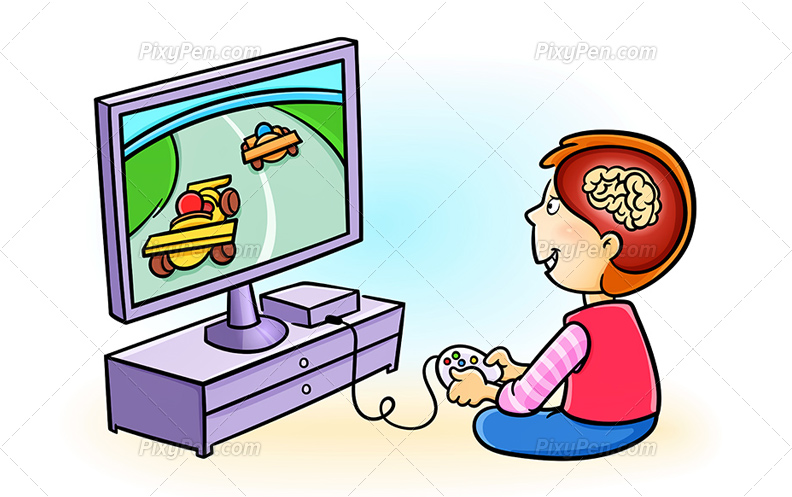 Guy playing video games clipart silhouette graphic freeuse stock Video Game Clipart | Free download best Video Game Clipart on ... graphic freeuse stock