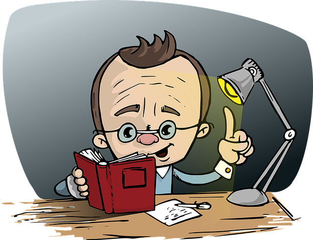Guy reading book clipart jpg black and white library Free photo Man Idea Book Glasses Light Reading Point Desk - Max Pixel jpg black and white library