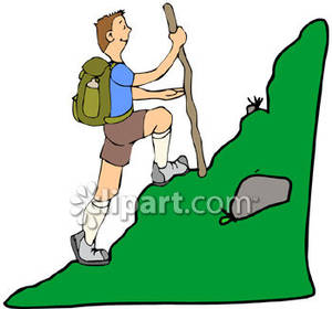 Library of guy walking up hill png transparent library png ...