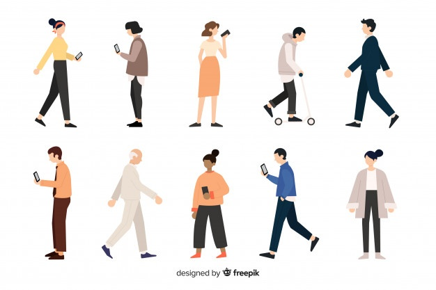 Guy walking up hill clipart image free stock Walking Vectors, Photos and PSD files | Free Download image free stock