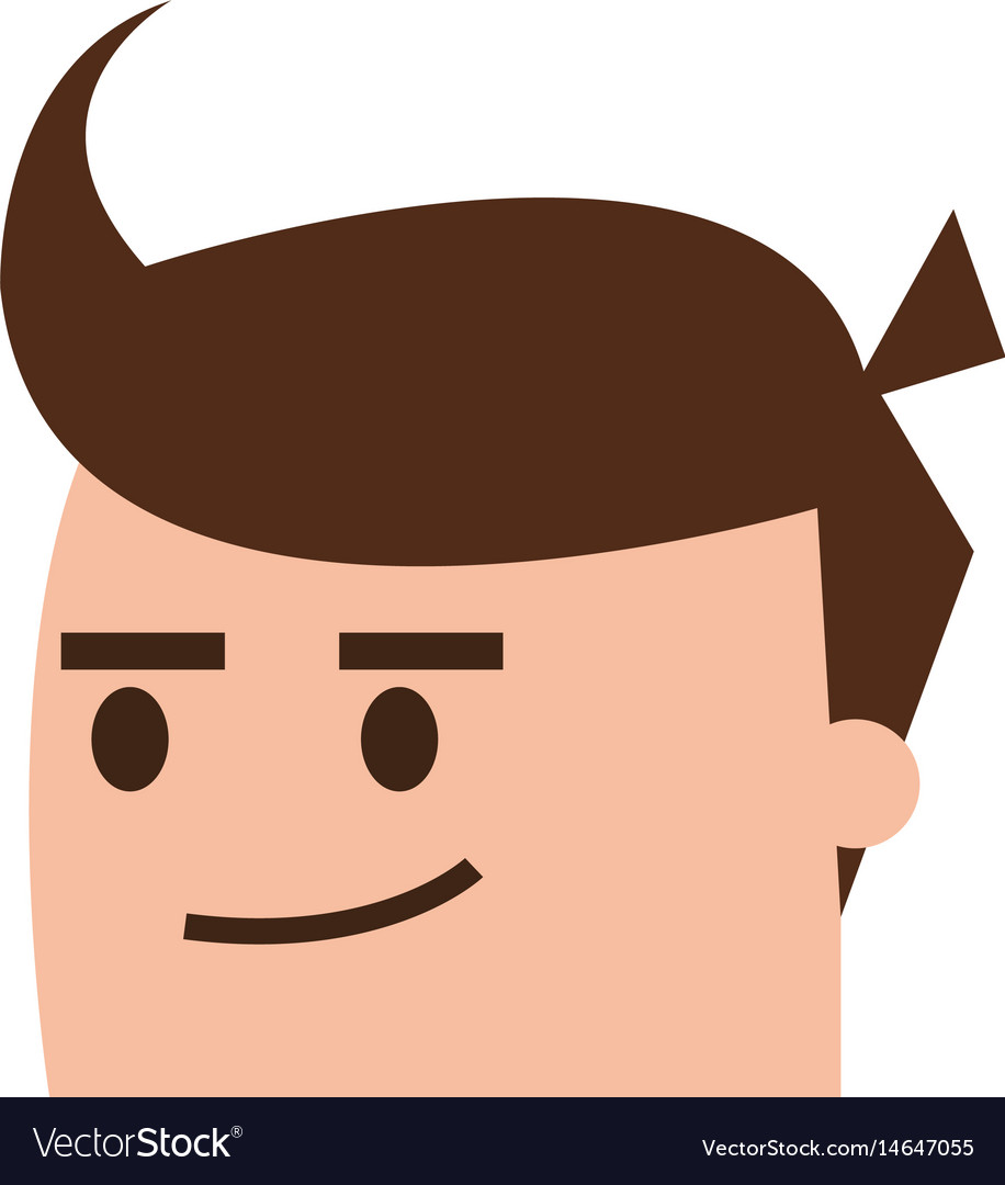 Guy with lock arms crossed smirk clipart jpg free download Cartoon man head icon image vector image jpg free download
