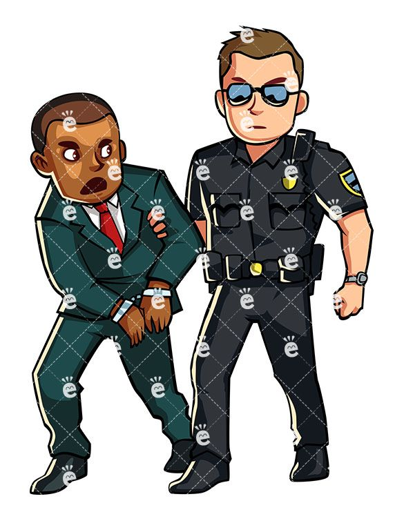 Guy with lock arms crossed smirk clipart graphic transparent Police Officer Arresting A Formally Dressed Black Man in 2019 ... graphic transparent