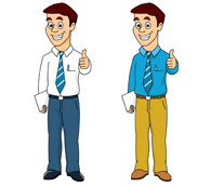 Guy with thumbs up clipart freeuse stock Thumbs up guy clipart - ClipartFest freeuse stock