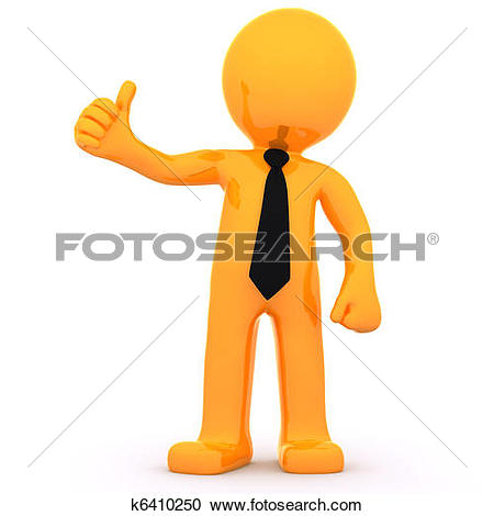 Guy with thumbs up clipart clip art library Stock Illustration of 3d man thumbs up gesture illustration ... clip art library