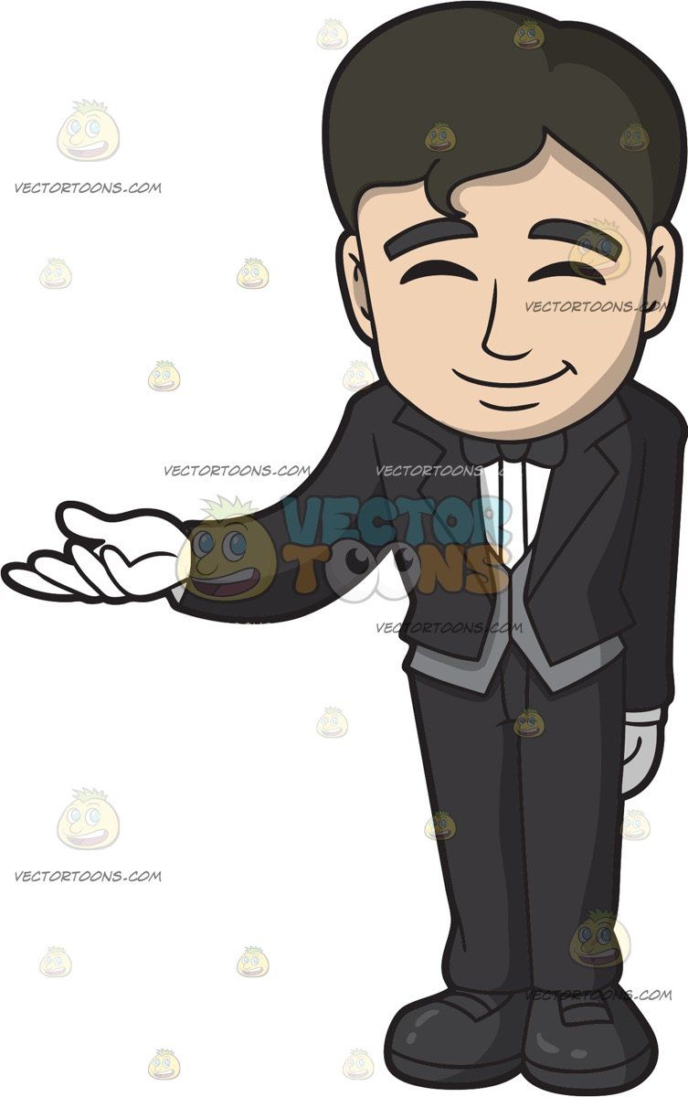 Guys with black hair and grey eyes clipart clipart download A Friendly Male Butler: A man with black hair wearing a black tuxedo ... clipart download
