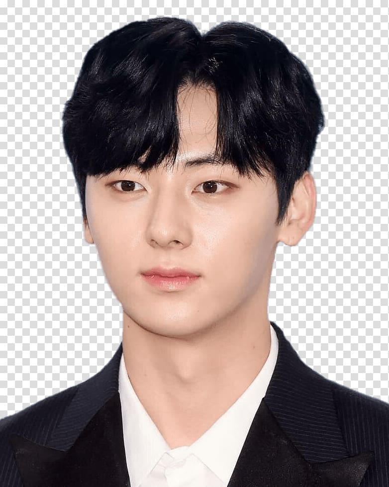 Guys with black hair and grey eyes clipart png free library Black haired man wearing black and white blazer, NU\'EST Minhyun ... png free library