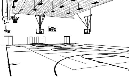 Gym class clipart black and white clip library School Gym Clipart Black And White clip library