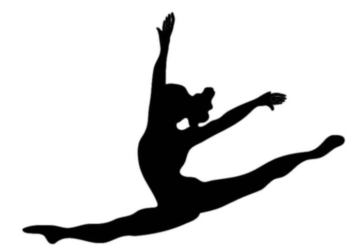 Gymnast clipart black girl graphic free stock Free Girl Gymnastics Cliparts, Download Free Clip Art, Free Clip Art ... graphic free stock