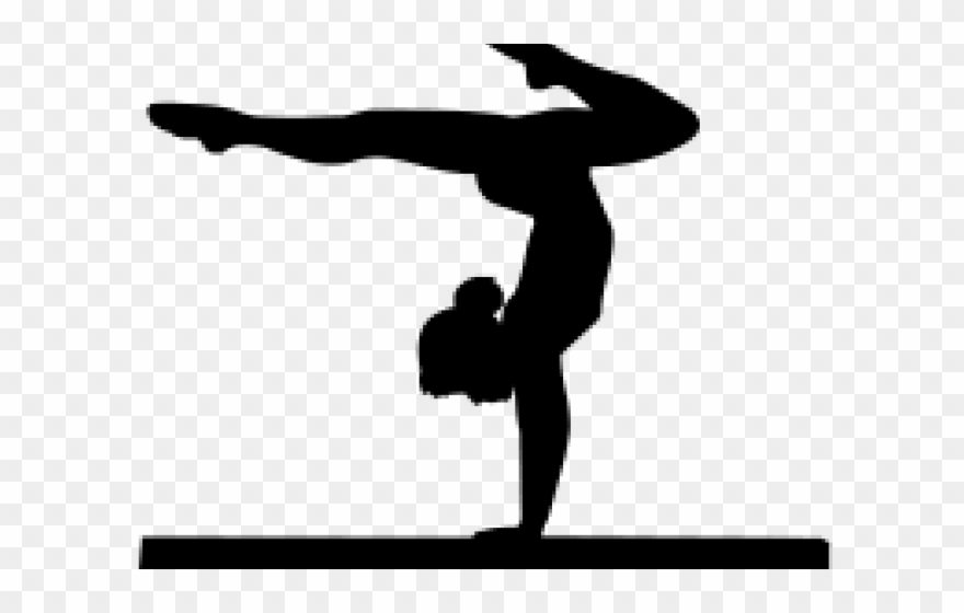 Gymnist clipart picture transparent stock Gymnastics Clipart Shadow - Png Download (#1991863) - PinClipart picture transparent stock