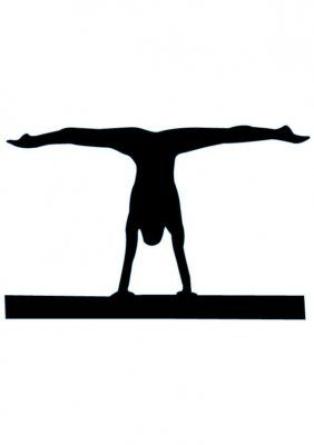 Gymnast handstand clipart clipart royalty free stock Gymnastics Handstand Silhouette | Clipart Panda - Free Clipart Images clipart royalty free stock