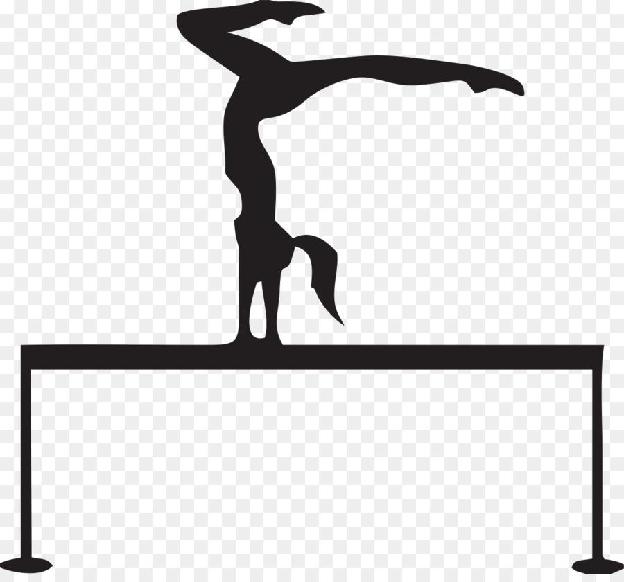 Gymnastics clipart beam black svg stock Black Line Background png download - 1323*1218 - Free Transparent ... svg stock
