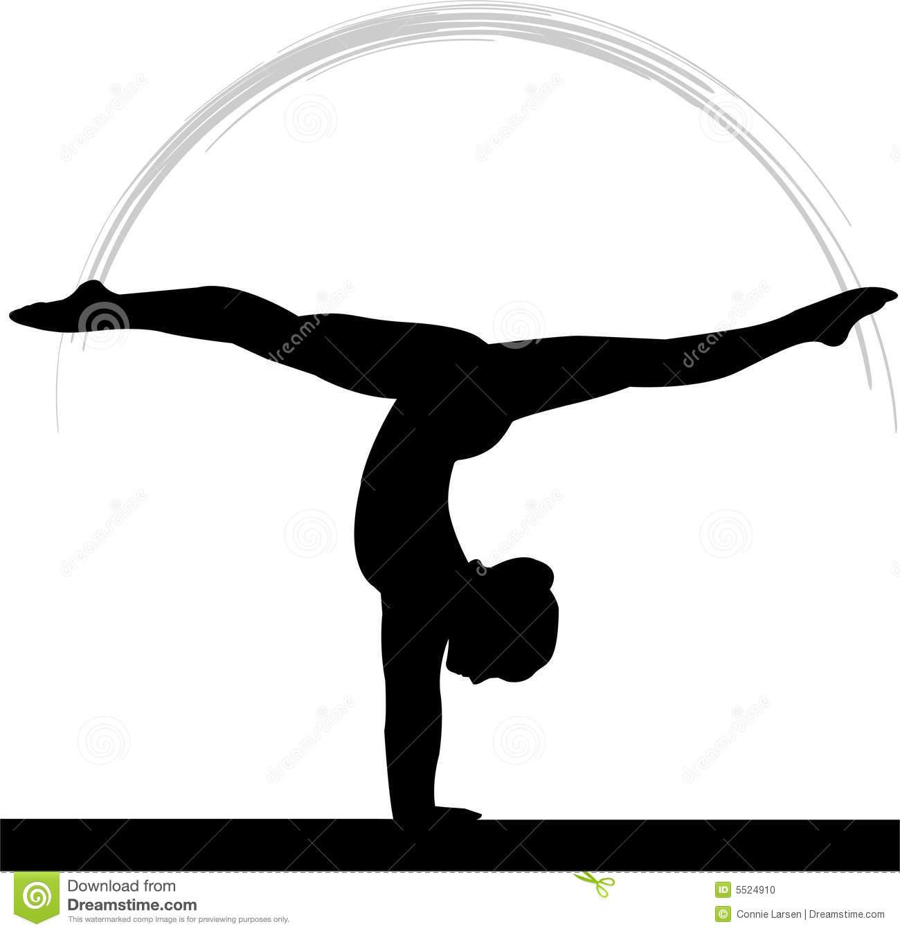 Gymnastics clipart beam black image transparent download Gymnastics Black And White | Free download best Gymnastics Black And ... image transparent download
