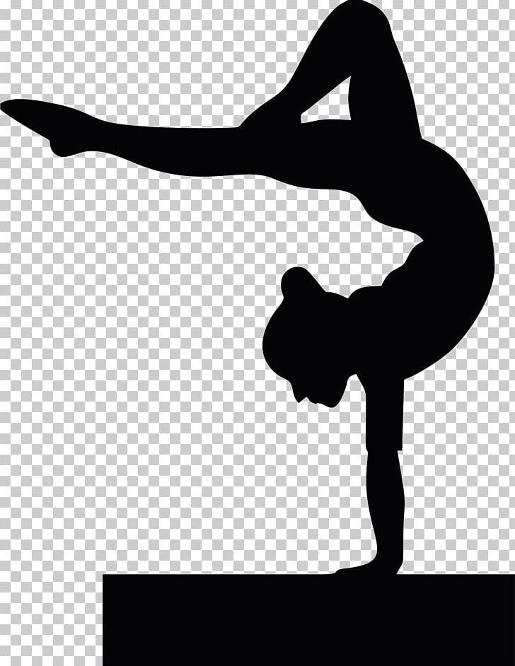 Gymnastics clipart beam black image black and white Gymnastics School Sport Cheerleading Tumbling PNG, Clipart, Arm ... image black and white