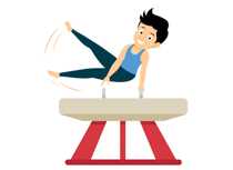 Gymnasticsn clipart clipart free download Sports Clipart - Free Gymnastics Clipart to Download clipart free download