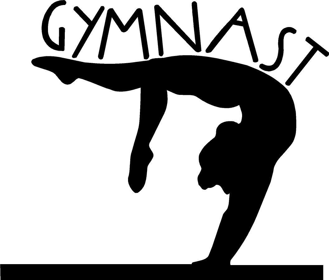 Gymnastics clipart images freeuse library Girl gymnastics clipart silhouette il fullxfull b6 clipartcow ... freeuse library
