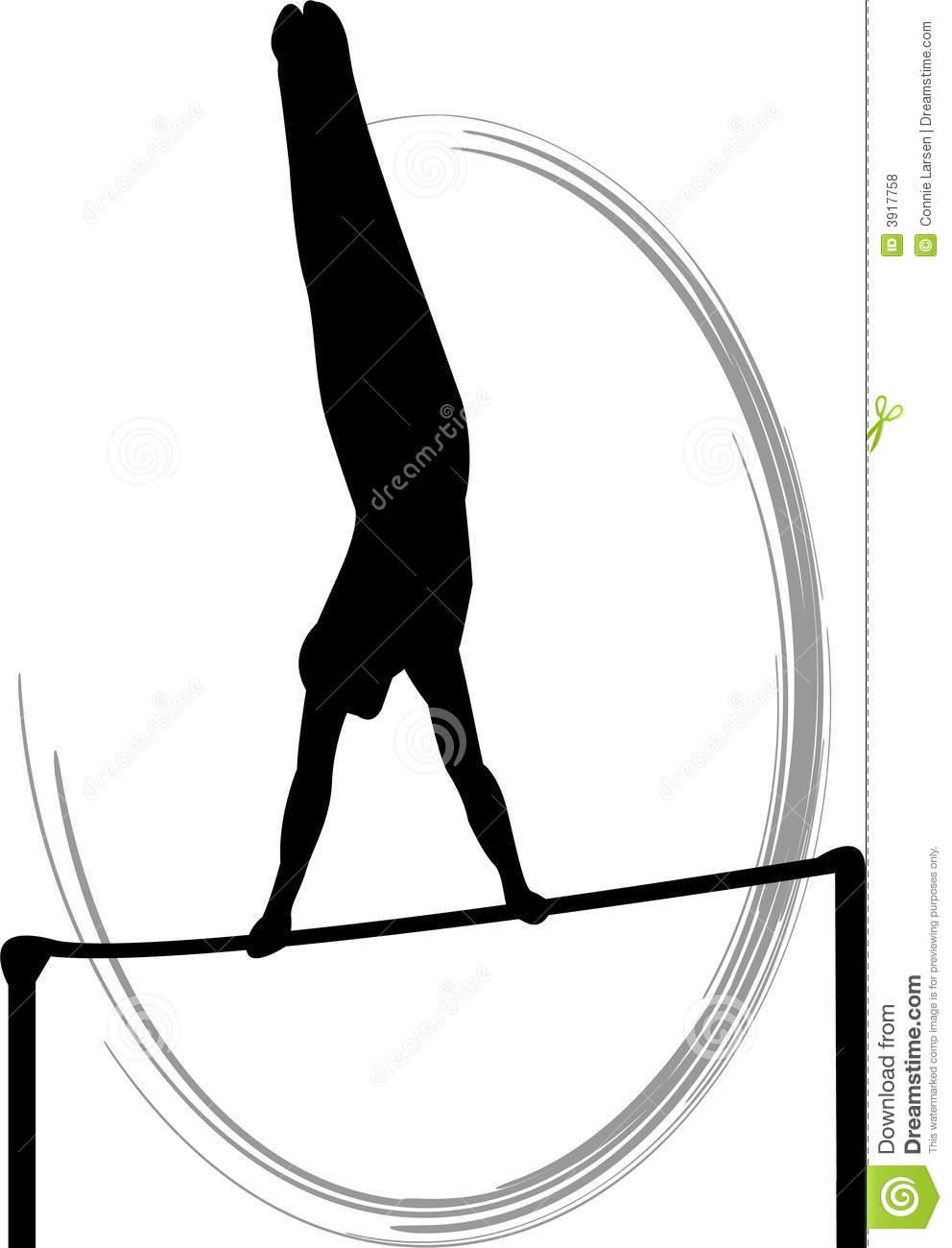 Gymnastics clipart silhouette vault clipart transparent download Gymnastics Silhouette Clipart - Clipart Kid clipart transparent download