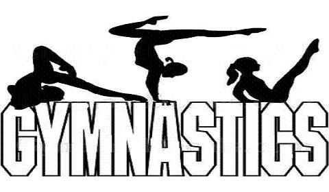 Gymnastics clipart silhouette vault svg royalty free Gymnastics Clipart - Clipart Kid svg royalty free