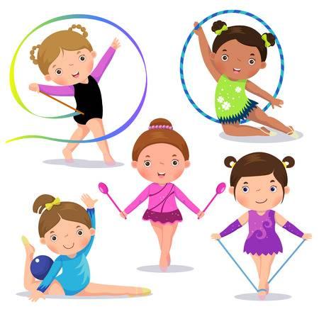 Gymnastics kids clipart image free download Gymnastics clipart kids 5 » Clipart Station image free download