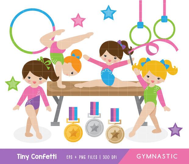 Gymnastics kids clipart clipart freeuse library Free Cute Gymnastics Cliparts, Download Free Clip Art, Free Clip Art ... clipart freeuse library