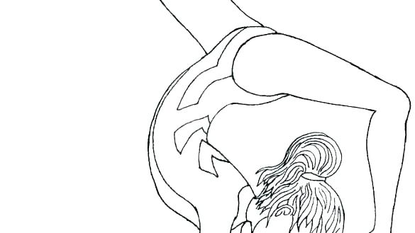 Gymnastics leotard clipart black in white coloring page clip library gymnastics coloring pages to print – thedileathers.co clip library