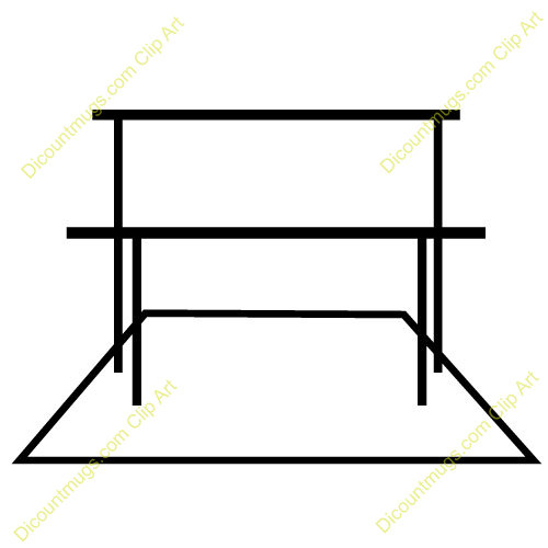 Gymnastics vault clipart picture library stock Gymnastics Bars Clipart - Clipart Kid picture library stock