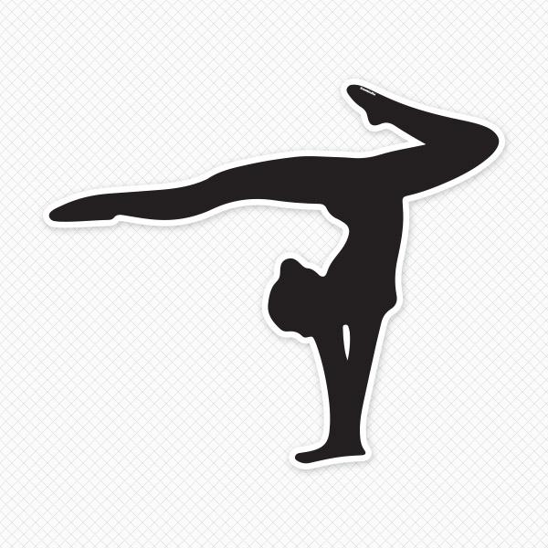 Gymnastics vector clipart clipart stock Tumbling gymnastics cartoon clip art free vector download - WikiClipArt clipart stock