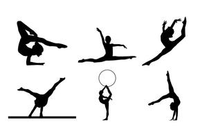 Gymnastics vector clipart library Gymnastic Free Vector Art - (3,587 Free Downloads) library