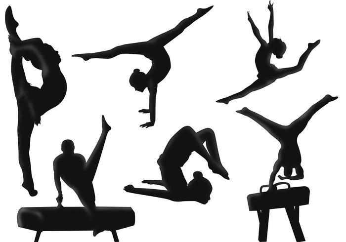 Gymnastics vector clipart image stock Gymnastic Vectors - Download Free Vectors, Clipart Graphics & Vector Art image stock