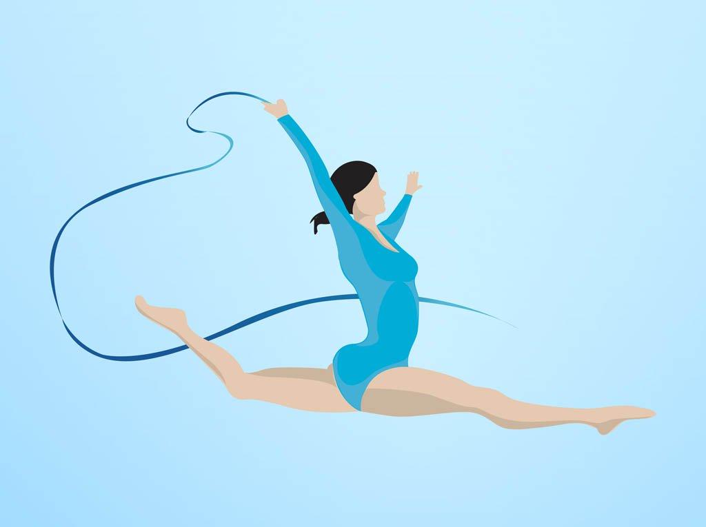 Gymnastics vector clipart jpg transparent Gymnastics Vector Vector Art & Graphics | freevector.com jpg transparent