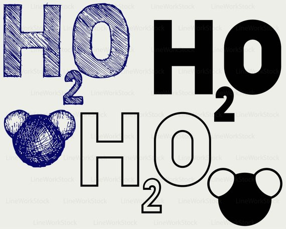 H20 clipart png black and white stock H2o clipart 8 » Clipart Station png black and white stock