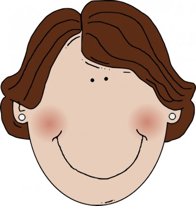 Haare kind clipart clipart freeuse stock Brown Hair Clipart | Clipart Panda - Free Clipart Images clipart freeuse stock