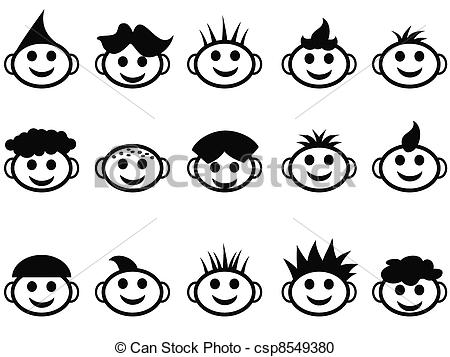 Haare kind clipart picture freeuse library Hair style Illustrations and Clipart. 48,643 Hair style royalty ... picture freeuse library