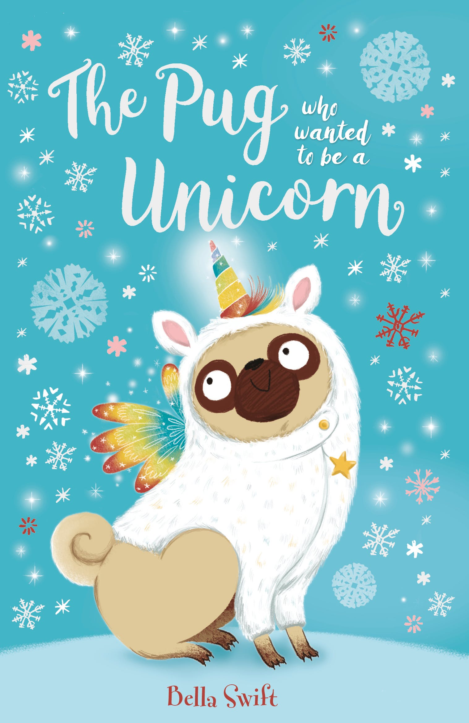 Hachette clipart jpg black and white download The Pug Who Wanted to Be a Unicorn by Bella Swift - Books - Hachette ... jpg black and white download